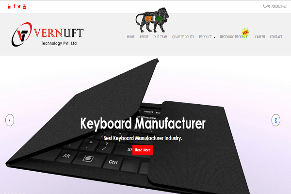 Miracle Hunt Services - Keyboard Manufacturare